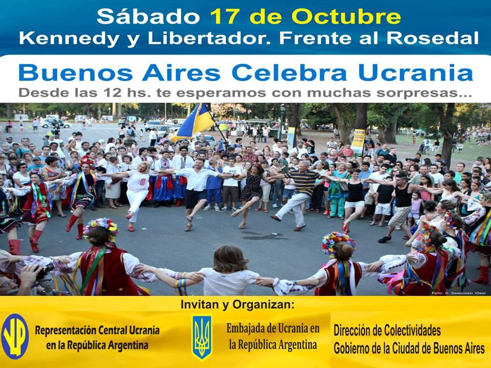 Buenos Aires  Celebra UCRANIA