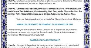 CRONOGRAMA DE LA INDEPENDENCIA 2017 1